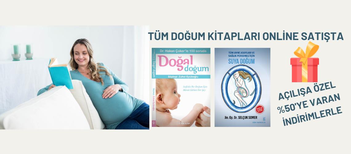 Doğum ve Bebek bakımı kitapları artık Online Akademi'de satışta...