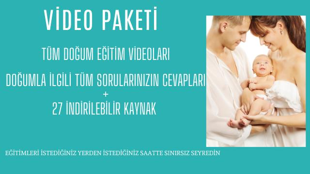 Doğum Eğitim Videoları artık Online Akademi'de